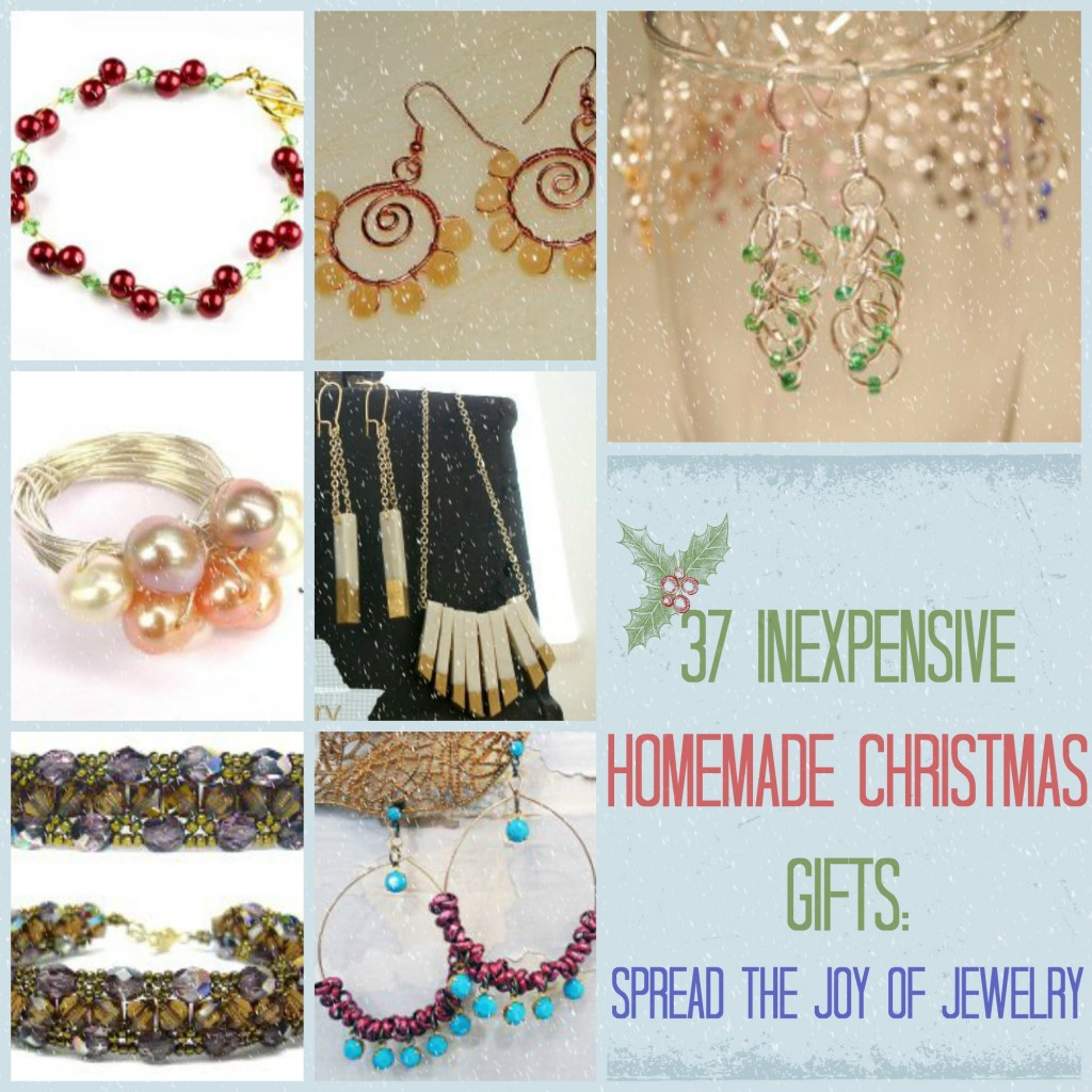 The joy of jewelry inexpensive homemade christmas gifts for Cheap diy christmas crafts