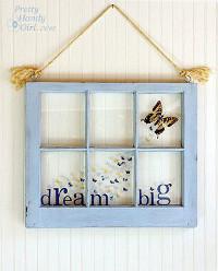 Big Dreams Butterfly Window