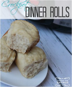 Easy Slow Cooker Dinner Rolls