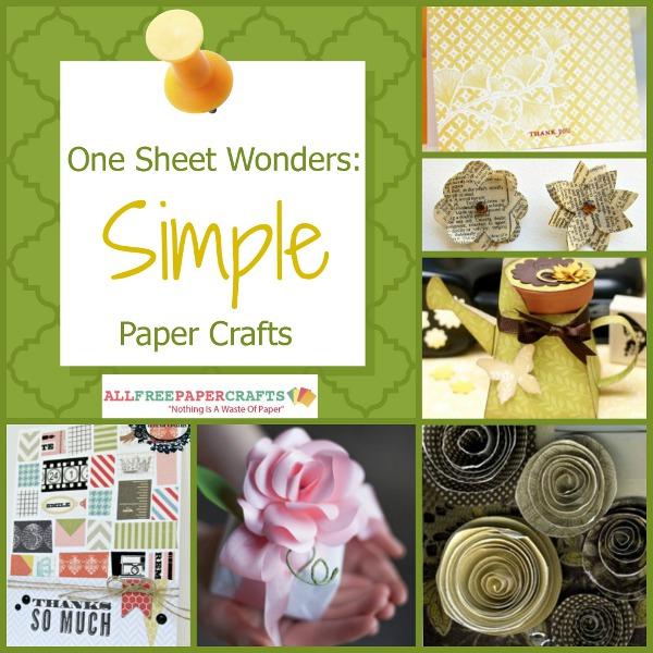 Simple Paper Crafts