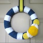 Nautical Navy Summer Wreath