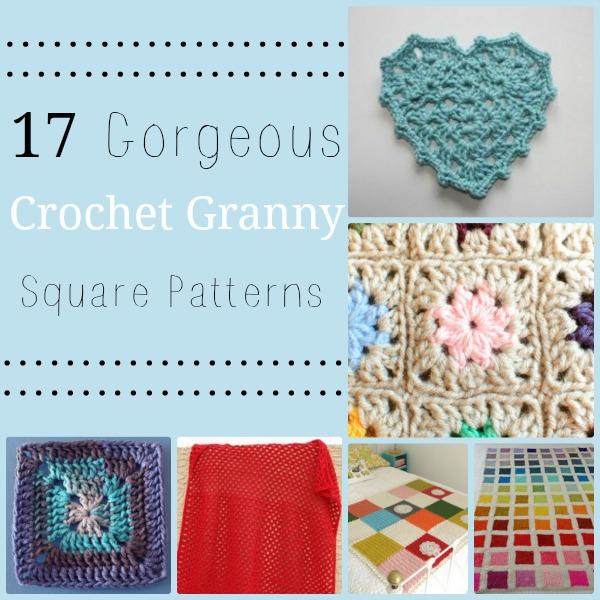 17 Gorgeous Crochet Granny Square Patterns
