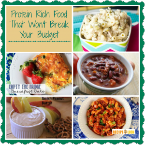 Protein Rich Food That Won't Break Your Budget