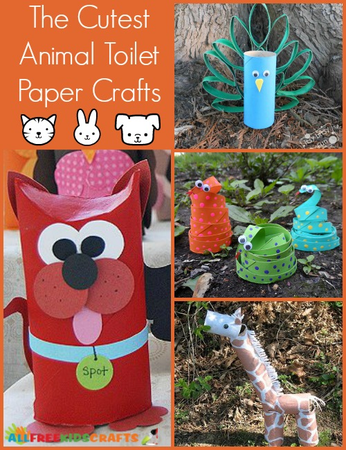 Easy Toilet Paper Crafts
