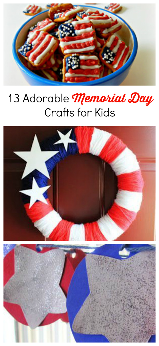 13 Adorable Memorial Day Crafts For Kids Cheap Eats And Thrifty Crafts