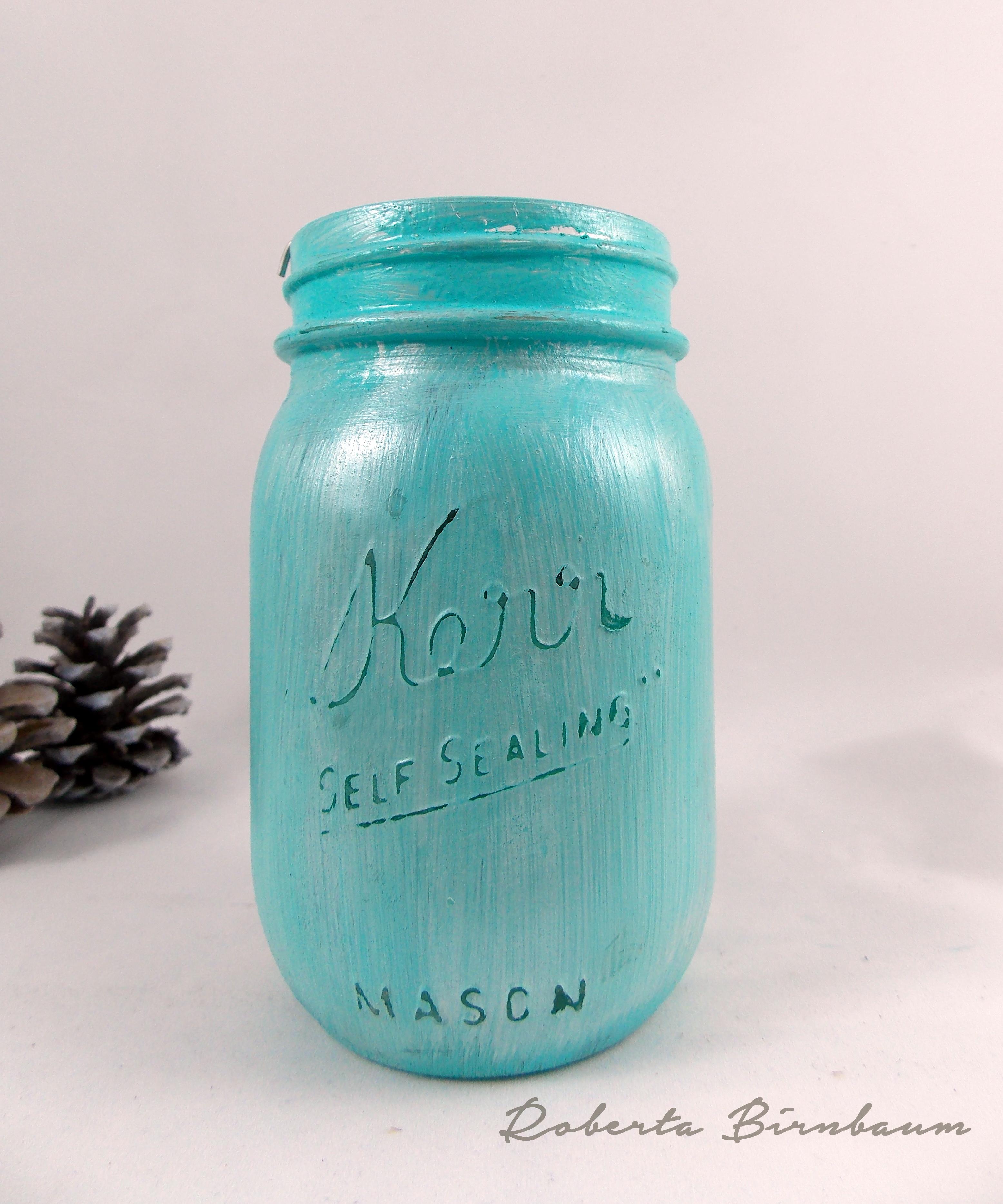 Quick And Easy Diy Mason Jar Tea Light Holder Cheap Eats And